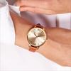 Braune OLIVIA BURTON Uhr BIG DIAL - small
