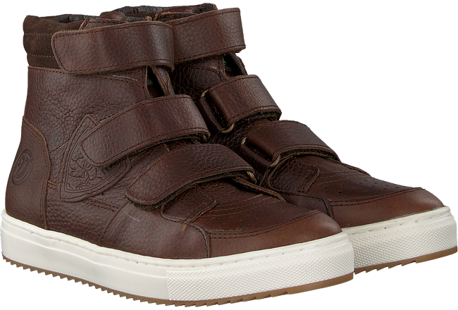Braune VINGINO Ankle Boots SIL MID VELCRO  - large