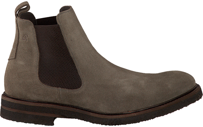Taupe GREVE Chelsea Boots 1405 - large