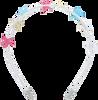 Mehrfarbige/Bunte LE BIG Stirnband TEYONA HEADBAND  - small