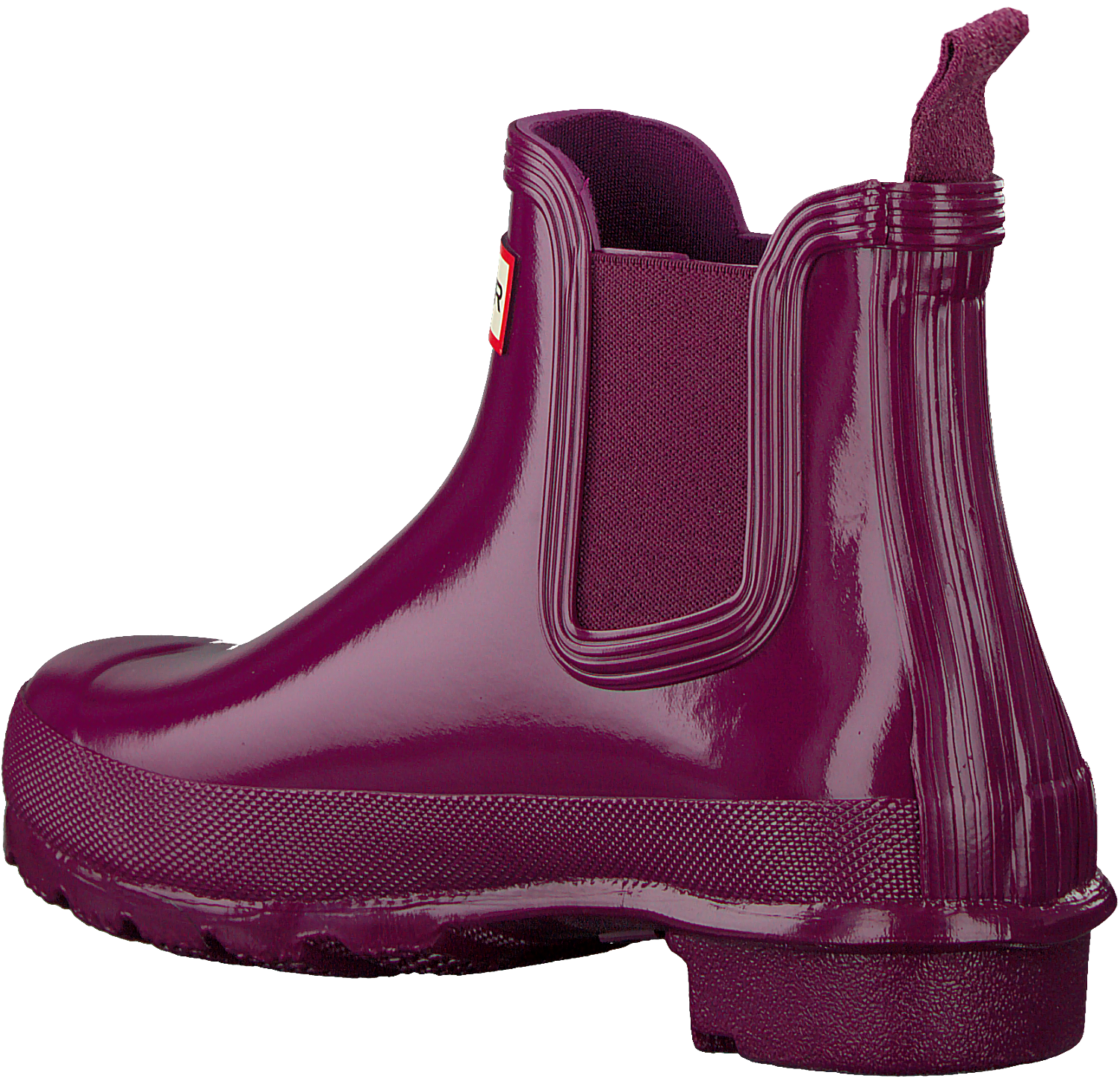 competitive price 5e3a3 5b126 Rote HUNTER Gummistiefel ORIGINAL CHELSEA GLOSS
