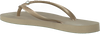 Beige HAVAIANAS Zehentrenner SLIM CRYSTAL GLAMOUR - small
