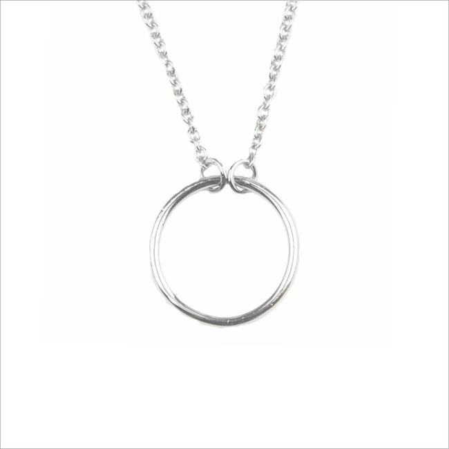 ATLITW STUDIO KETTING SOUVENIR NECKLACE CIRCLE - large