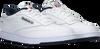 Weiße REEBOK Sneaker CLUB C 85 MEN - small