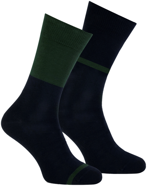 Blaue MARCMARCS Socken ALLARD COTTON 2-PACK - large