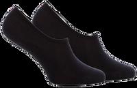 Schwarze TOMMY HILFIGER Socken TH WOMEN FOOTIE 2P  - medium