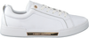 Weiße TOMMY HILFIGER Sneaker low BRANDED OUTSOLE METALLIC  - small