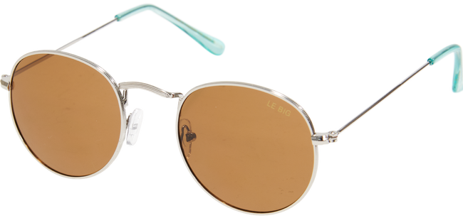 Silberne LE BIG Sonnenbrille SAILOR SUNGLASSES  - large