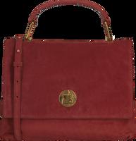 Rote COCCINELLE Handtasche LIYA SUEDE  - medium