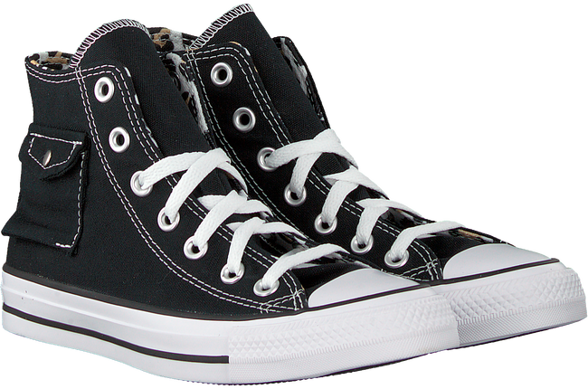 Schwarze CONVERSE Sneaker high CHUCK TAYLOR AS POCKET HI - large