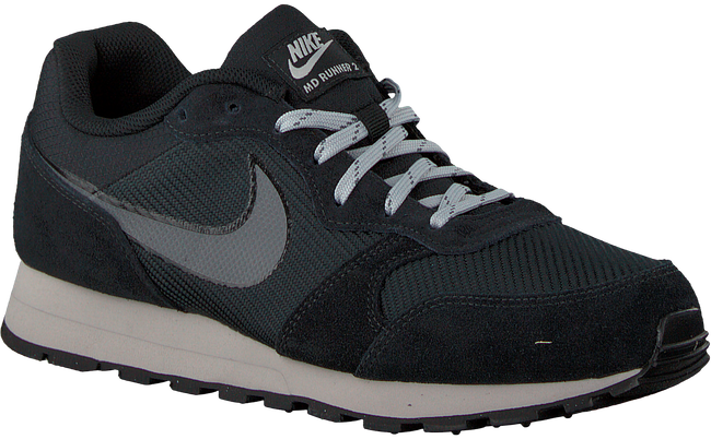 Schwarze NIKE Sneaker MD RUNNER HEREN - large