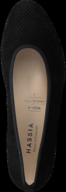 Schwarze HASSIA Slipper 2124 - large