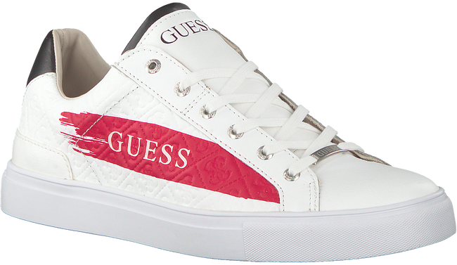 Weiße GUESS Sneaker LUISS  - large