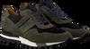 Grüne MAZZELTOV Sneaker 3982  - small