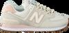Weiße NEW BALANCE Sneaker low WL574  - small