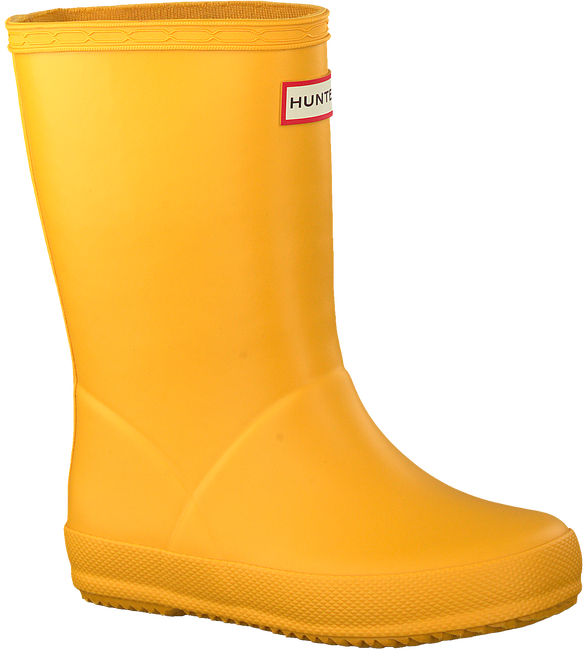 Gelbe HUNTER Gummistiefel KIDS FIRST CLASSIC  - large