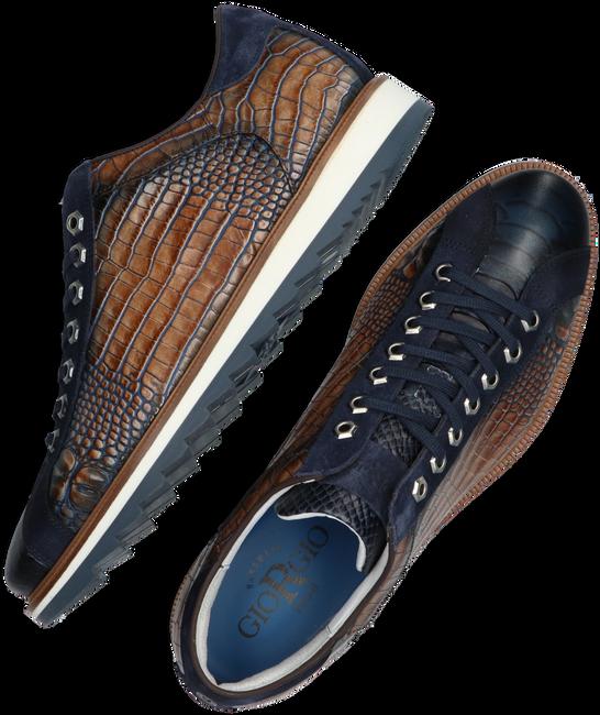 Blaue GIORGIO Business Schuhe 64918  - large