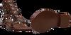 Cognacfarbene ASH Sandalen PHOENIX  - small