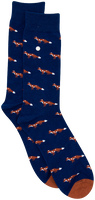 Blaue Alfredo Gonzales Socken FOXY  - medium
