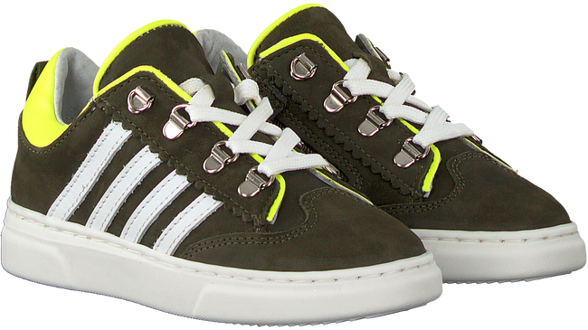 Grüne PINOCCHIO Sneaker low P1327  - large
