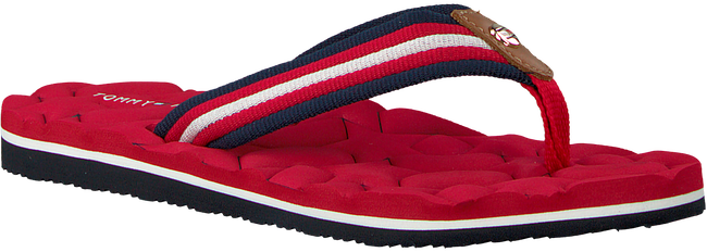 Rote TOMMY HILFIGER Pantolette COMFORT LOW BEACH SANDAL - large