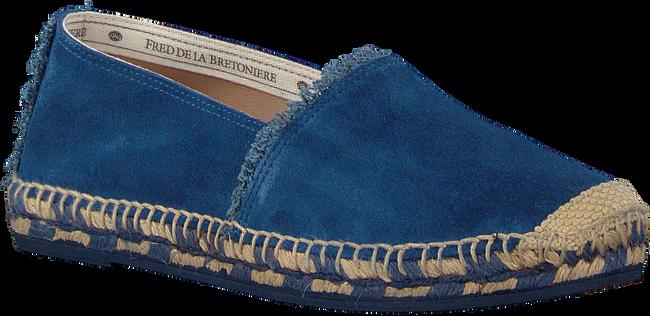 Blaue FRED DE LA BRETONIERE Espadrilles FRS0322 ESPADRILLE LOAFER - large