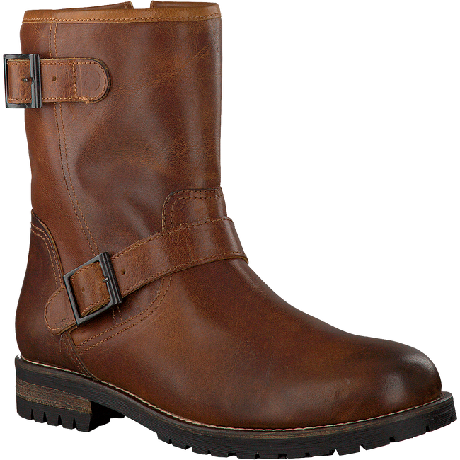 Cognacfarbene OMODA Ankle Boots 80074 - large