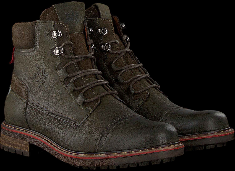7667baa7868aee Grüne NEW ZEALAND AUCKLAND Ankle Boots NEWEA HIGH TMB M - Omoda.de