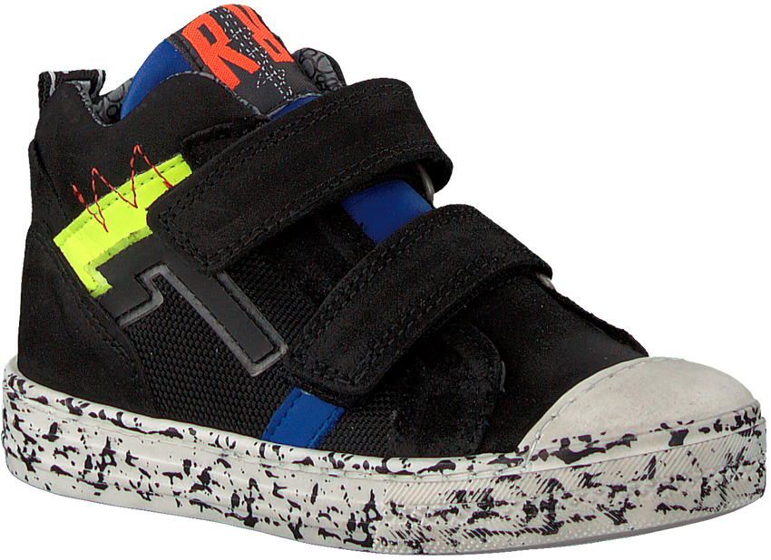 Schwarze RED-RAG Sneaker 13329  - larger