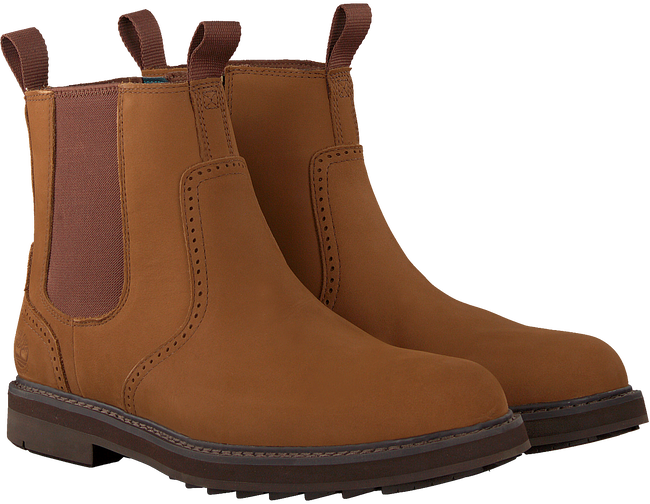 Cognacfarbene TIMBERLAND Chelsea Boots SQUALL CANYON CHELSEA  - large