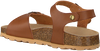 Cognacfarbene BRAQEEZ Sandalen SAM SPAIN  - small