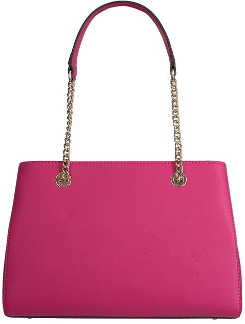 Rote GUESS Handtasche ROBYN GIRLFRIEND SATCHEL  - large