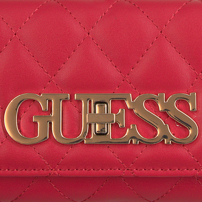 Rote GUESS Portemonnaie SWEET CANDY SLG LRG CLTCH ORG  - large
