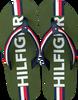Grüne TOMMY HILFIGER Zehentrenner MAXI LETTERING PRINT FLIP FLOP  - small