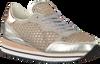 Goldfarbene CRIME LONDON Sneaker DYNAMIC PAILETTES - small