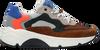 Cognacfarbene WYSH Sneaker low JOEL  - small