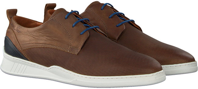 Cognacfarbene VAN LIER Business Schuhe 1918705  - large