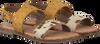 Braune GIOSEPPO Sandalen 47105  - small