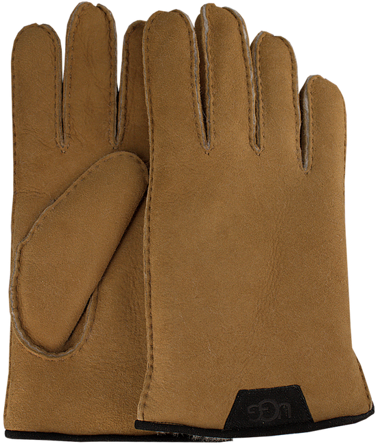 Braune UGG Handschuhe SHEARLING GLOVE - large