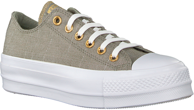 Graue CONVERSE Sneaker CTAS LIFT OX DARK STUCCO/DRIF - large