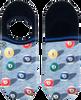 Mehrfarbige/Bunte XPOOOS Socken SNOOKER INVISIBLE  - small
