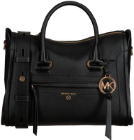 Schwarze MICHAEL KORS Handtasche MD SATCHEL  - medium