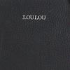 Schwarze LOULOU ESSENTIELS Umhängetasche 85BAG ROBUSTE  - small