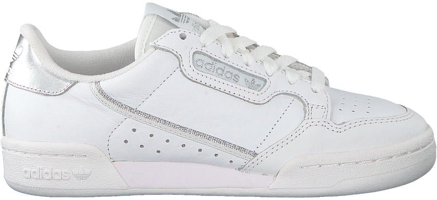 Weiße ADIDAS Sneaker CONTINENTAL 80 W  - larger
