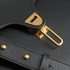 Schwarze COCCINELLE Handtasche MARVIN 1802  - small
