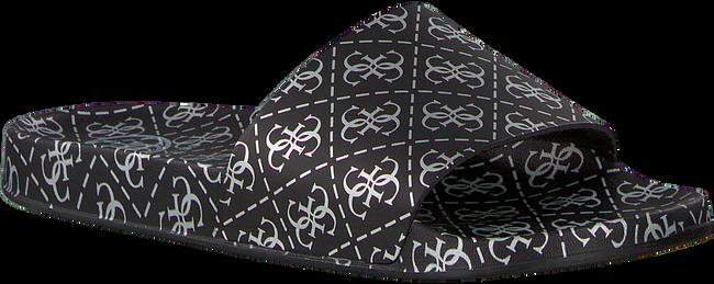 Schwarze GUESS Pantolette I-SAVAN-EU  - large