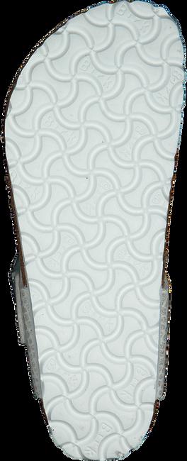 Weiße BIRKENSTOCK Pantolette GIZEH MAGIC SNAKE - large