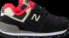 Schwarze NEW BALANCE Sneaker YV574/IV574 - small