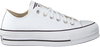 Weiße CONVERSE Sneaker low CHUCK TAYLOR AS LIFT CLEAN OX  - small