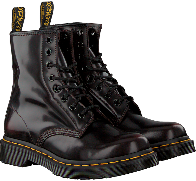 Rote DR MARTENS Schnürboots 1460 - large